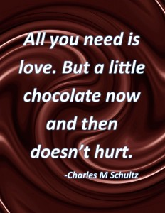 eat chocolate and lose weight
