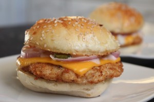 foods you should avoid for weight loss - processed chicken burger